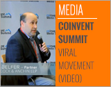 April 22 (CoInvent) -- Michael Belfer, practice leader of Anchin, Block & Anchin LLP's Public Relations and Advertising Industry Group on panel discussing how to create viral movements with digital media. (Source: CoInvent)